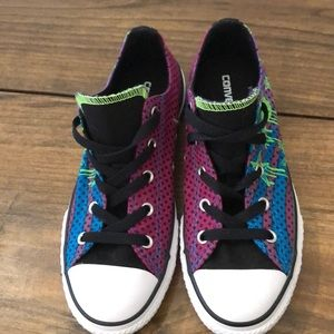 CONVERSE All Star double tongue girls size 3